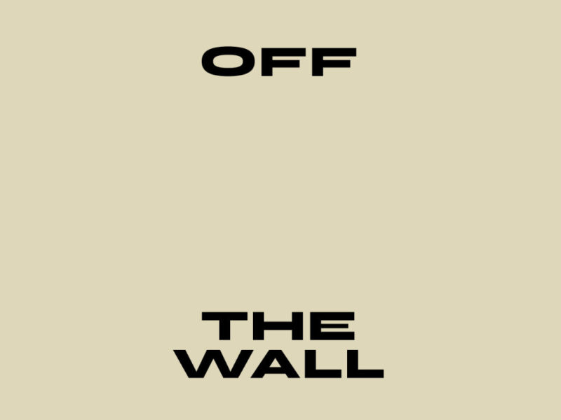 """Image : visuel exposition """"Off the wall"""""""