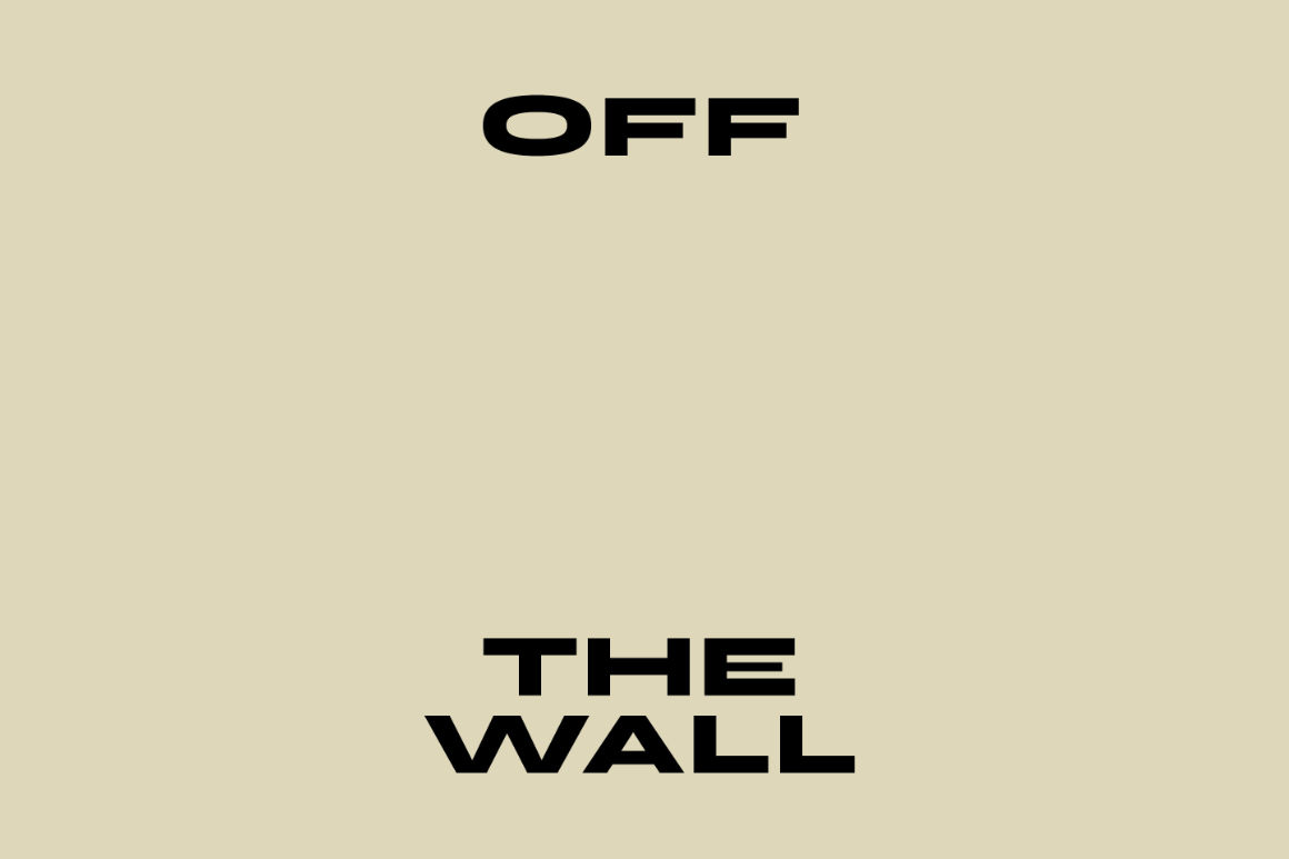 "Image : visuel exposition ""Off the wall"""