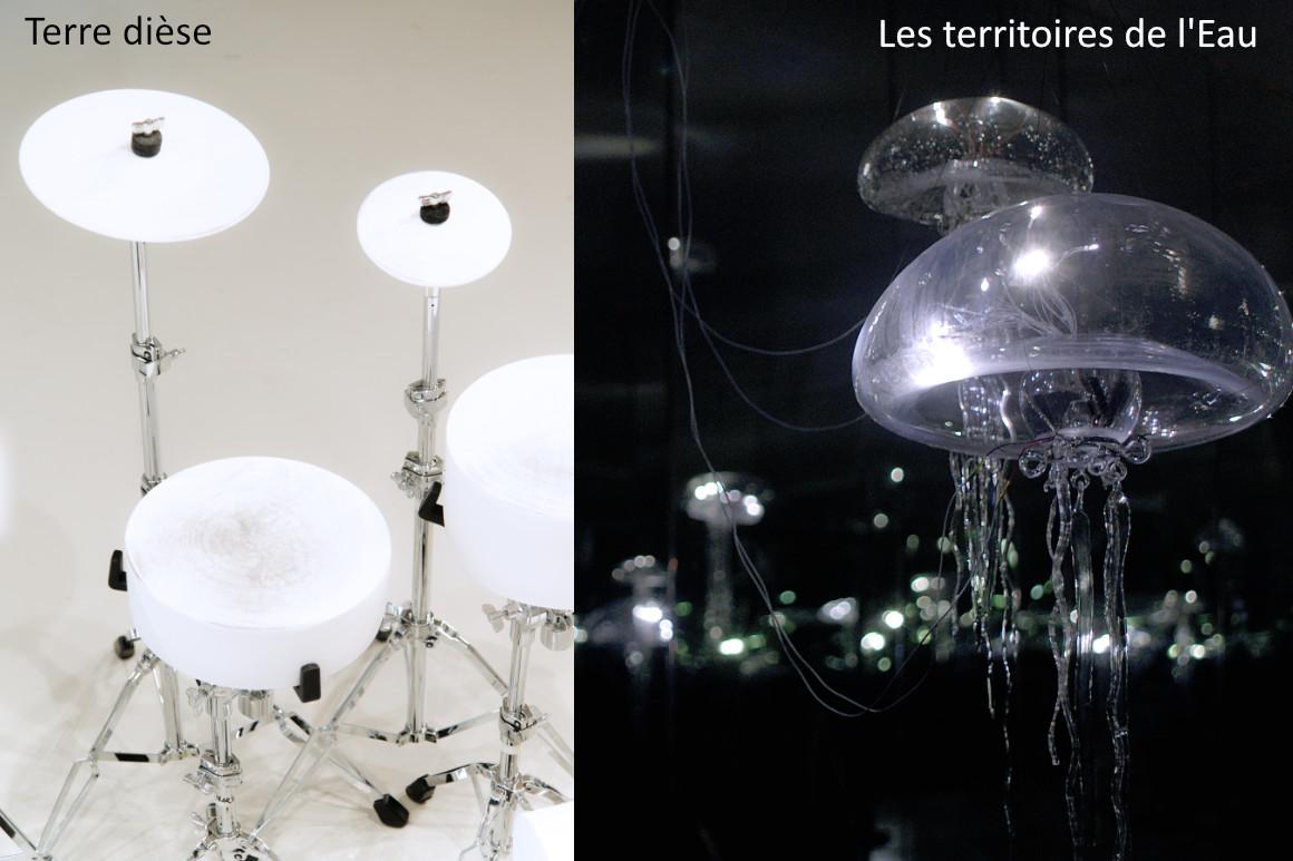 """Photos : expositions de Yves Chaudouët """"Terre dièse"""" et """"Les territoires de l'Eau"""""""