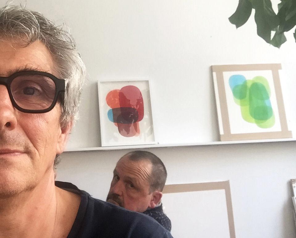 """Visuel : exposition """"Sur la route"""" de Martin Bourdanove et Denis Falgoux"""