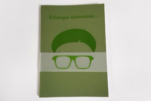 Visuel : publication echanges epistolaires avec matali crasset