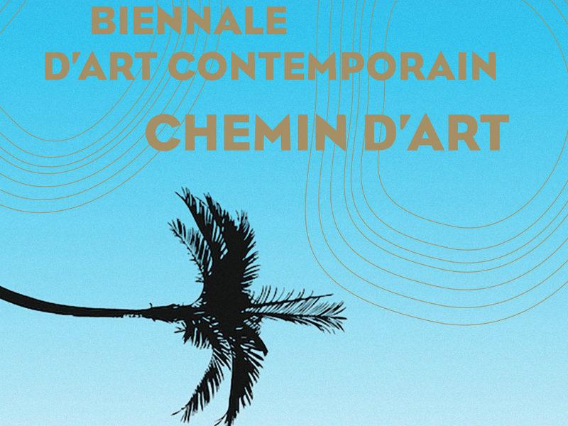 """Visuel : biennale d'art contemporain """"Chemin d'art"""""""