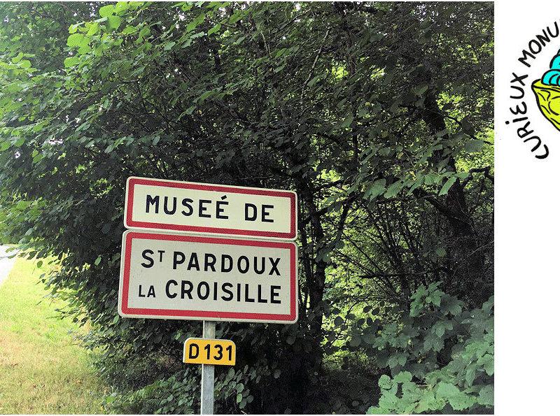 Photo, image : curieux monuments de St Pardoux la Croisille
