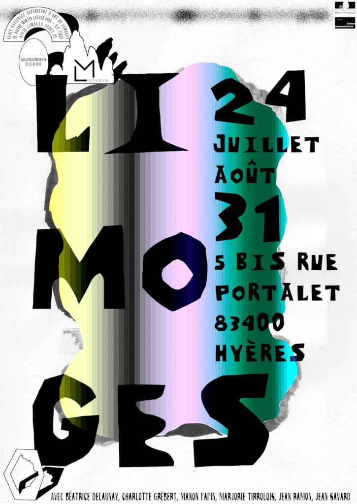 Affiche : exposition LIMOGES à Hyères