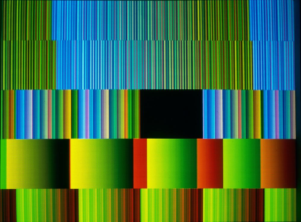 Image : Richard Monnier, Dégradé, dégradé, 2000