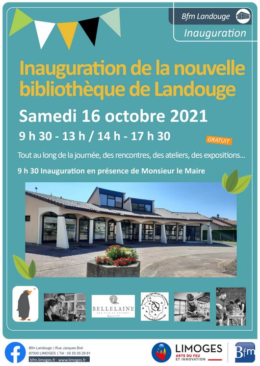 Image : inauguration bibliothèque Landouge