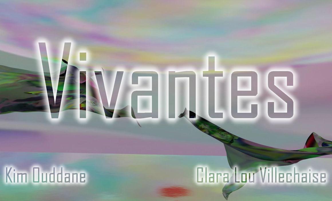 Image : Photogramme d'entête de page : Clara Lou Villechaise, Trou de ver , modélisation 3D, 2021.