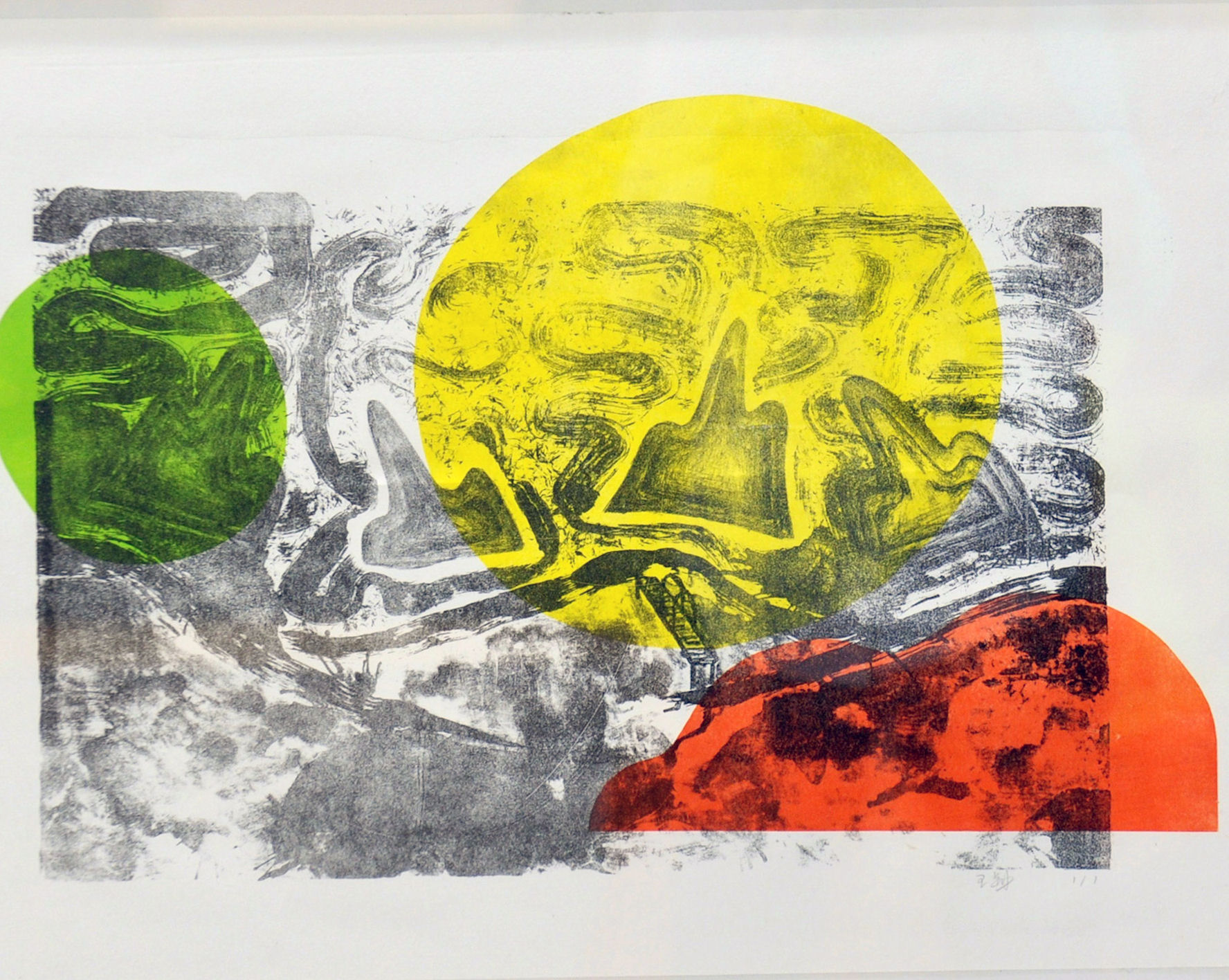 Chastèl Espectre, exposition de lithographies