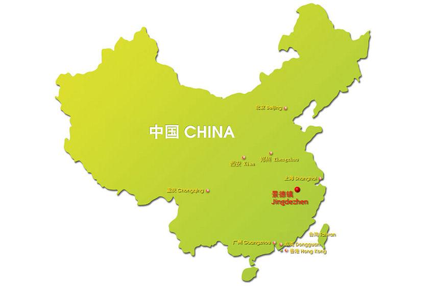 map_jingdezhen