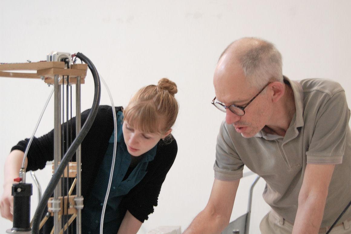 Jonathan Keep et étudiants (Laboratoire de recherche CCE)