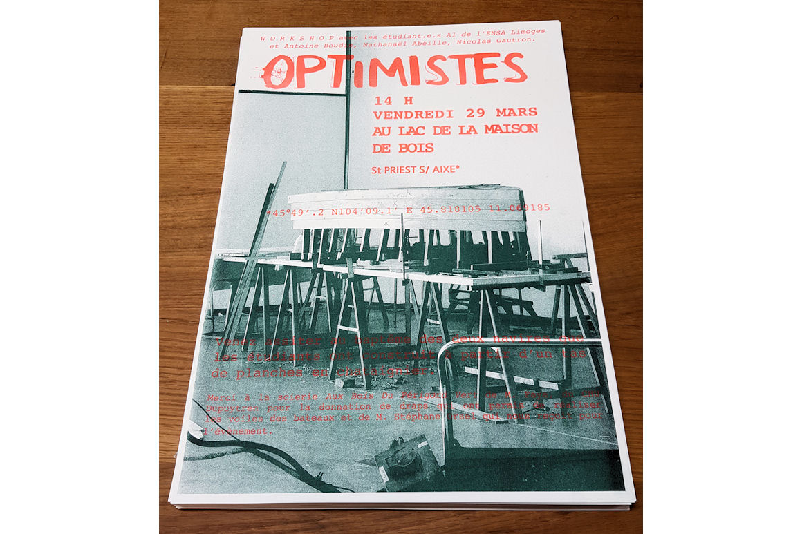 Workshop design : L'OPTIMISTE