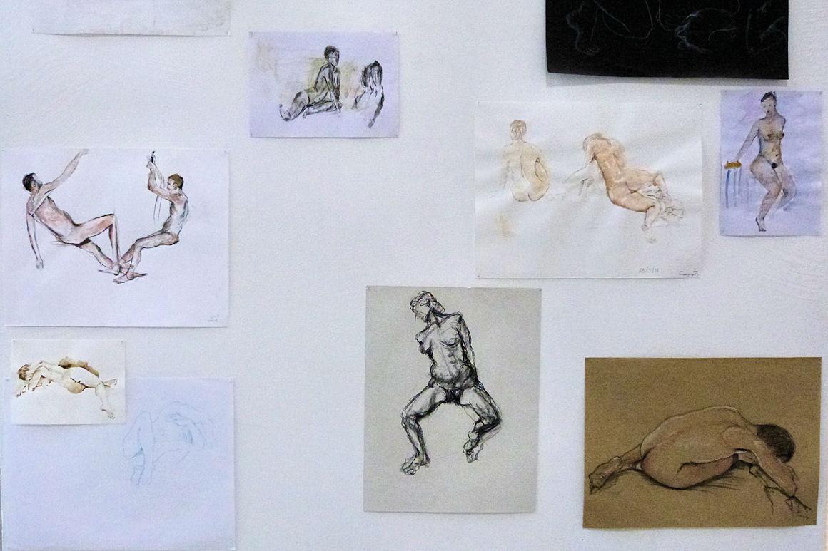 Atelier dessin « NU (connaître l'autre) » avec modèle vivant