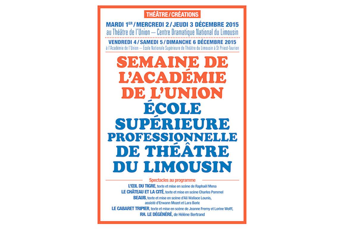 ENSA / académie théâtrale de l'Union