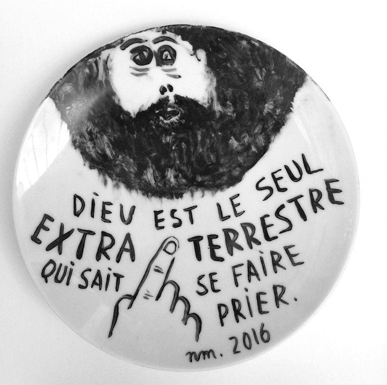 Du 16 au 18 mai 2016, Nelly Maurel en résidence à l'ENSA Limoges
