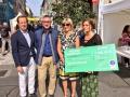 Remise du chèque Ville de Limoges