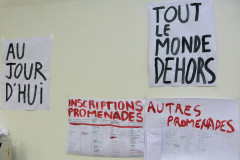 Mardi 6 octobre : TOUT LE MONDE DEHORS