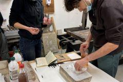 """Workshop """"lithographie"""" avec Marianne Mispelaëre"""
