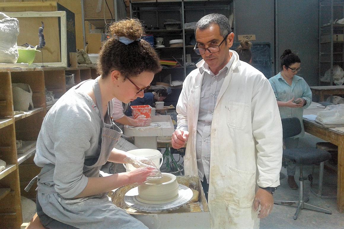 Workshop avec l'Institut des Arts Tradionnels de Meknès